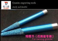 Small Size Granite Engraving Tools Blue Surface For Stone Engraving Machine
